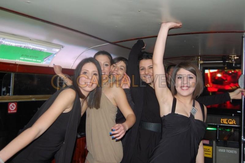 Festa in bus Inglese Roma 6