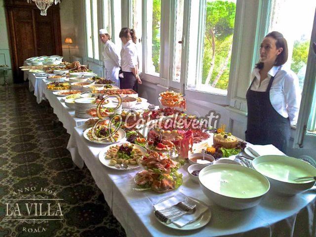 buffet la villa roma 8
